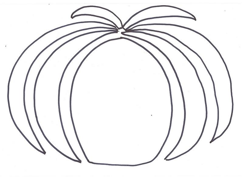 Une Citrouille En Gommettes Colorees Un Bricolage Facile Pour L