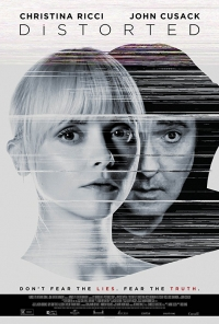 Distorted poster image