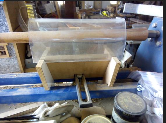 Aspiration des poussières pour tour à bois 180922120701918493