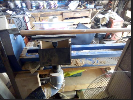 Aspiration des poussières pour tour à bois 180922120806227520