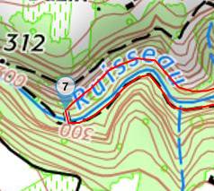 Screenshot_2018-09-23 Carte diagramme de la randonnée Le Plateau de Bessey et le Batalon