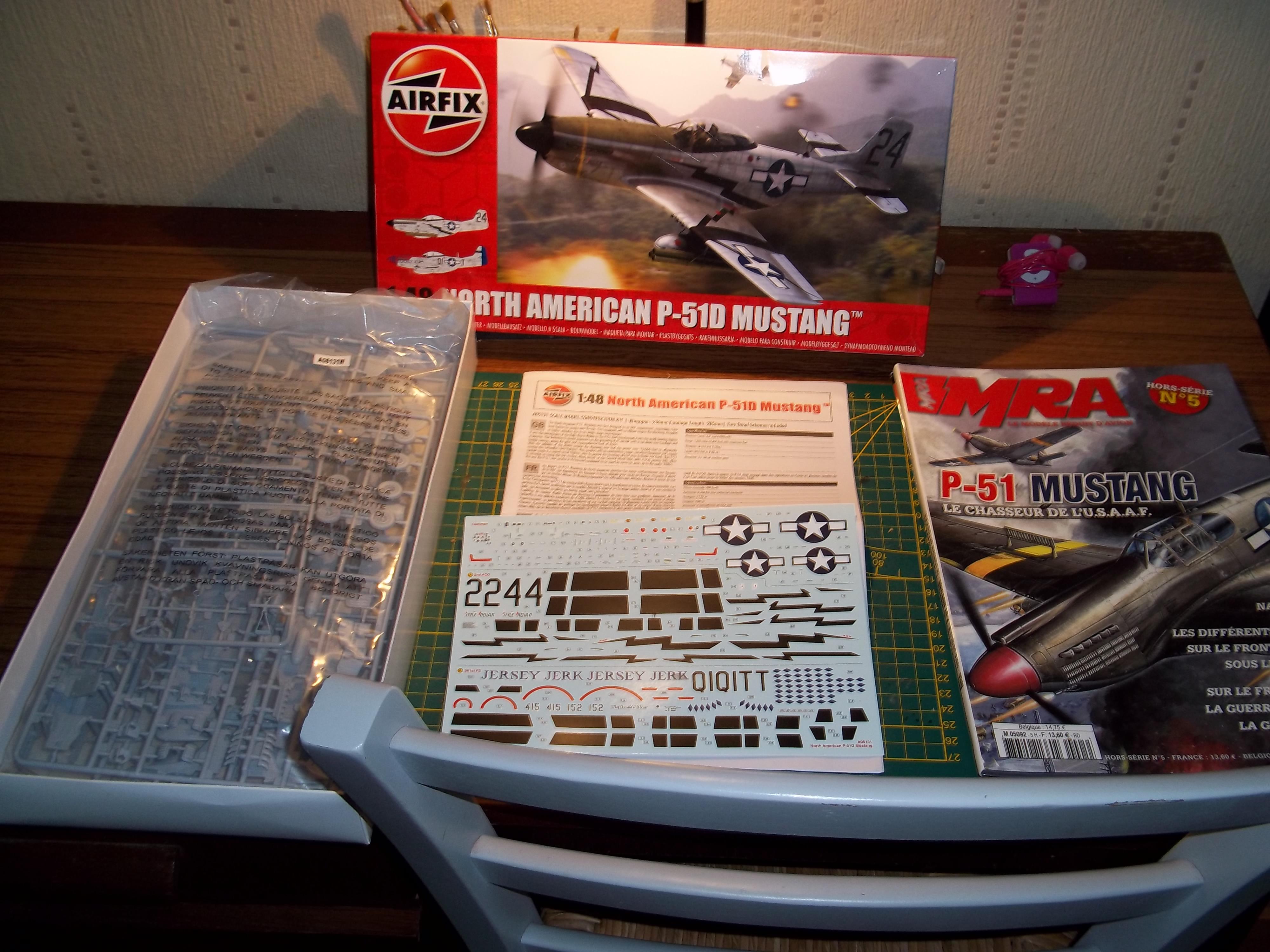 P 51D mustang 1/48 airfix  180926111200444523