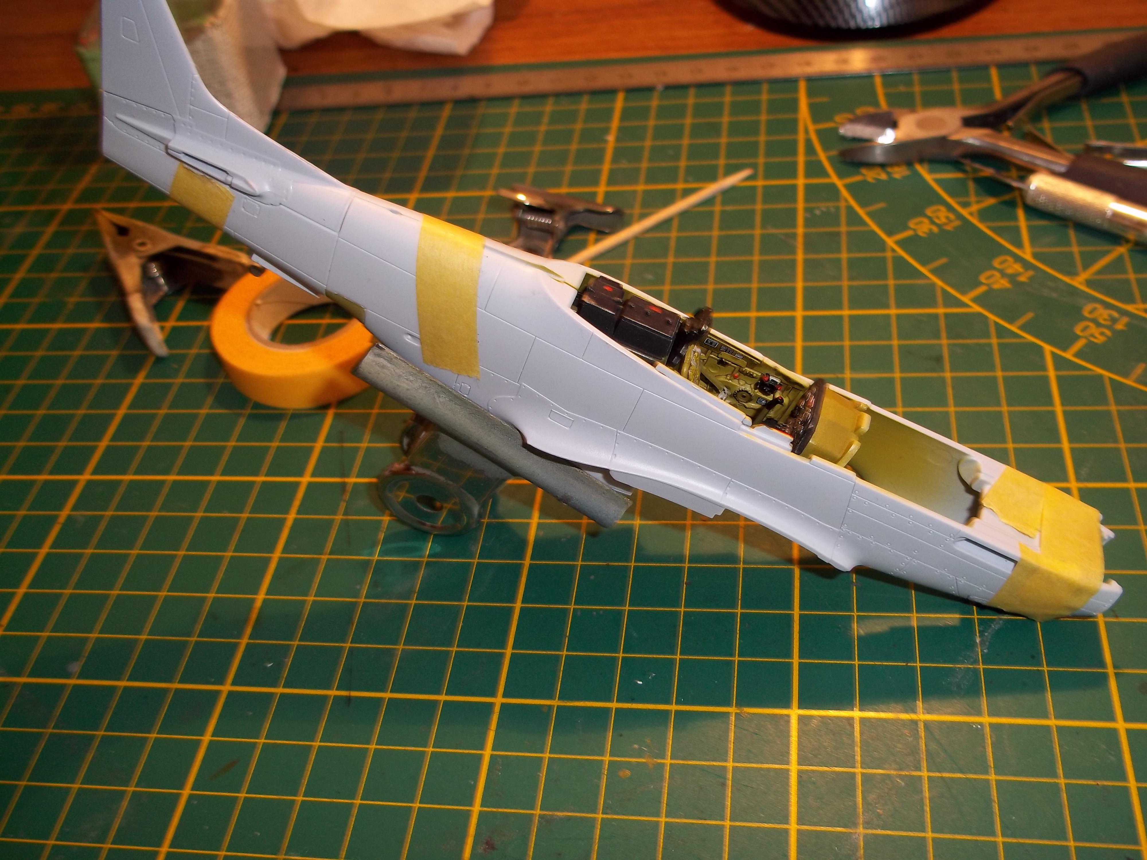 P 51D mustang 1/48 airfix  180929054958596376