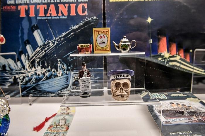 Exposition Titanic au Musée Maritime de Cornouailles  180930063740627877