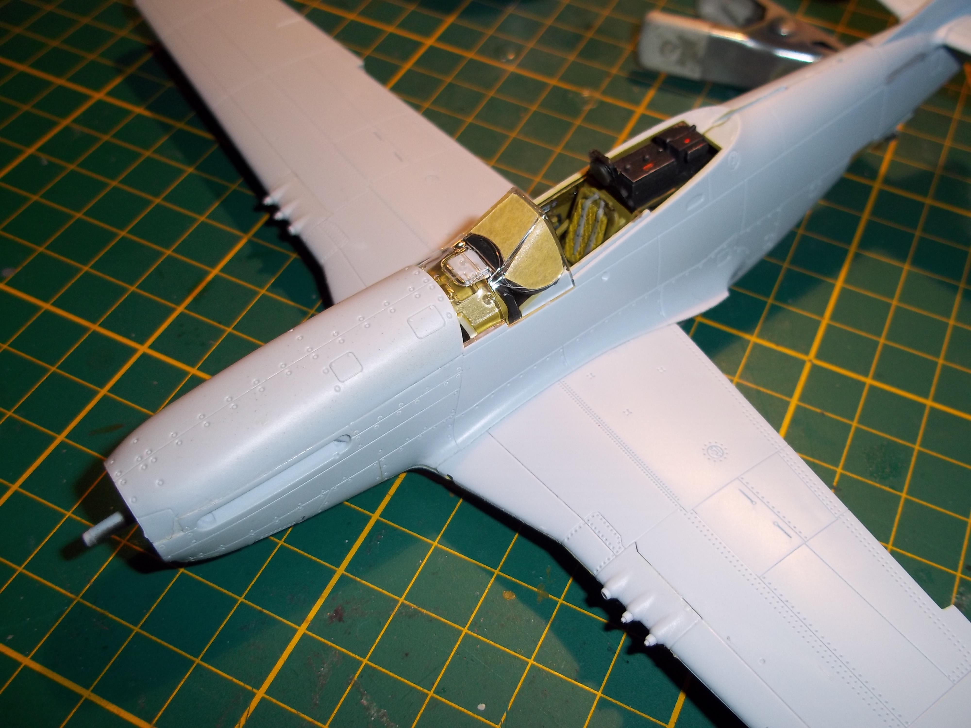 P 51D mustang 1/48 airfix  181003120351236507