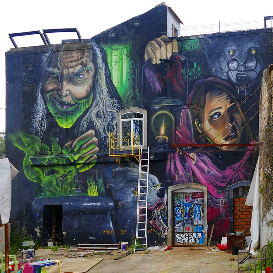 [FIL OUVERT] Street art - Page 21 181004085137563214