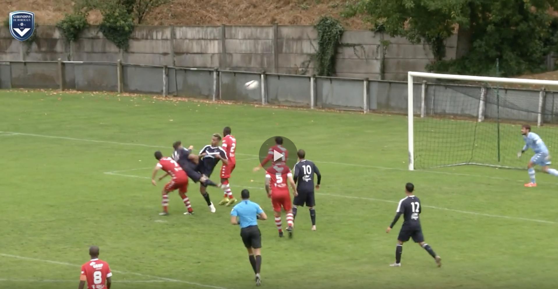 Cfa Girondins : Le résumé vidéo de Bordeaux - Colomiers - Formation Girondins