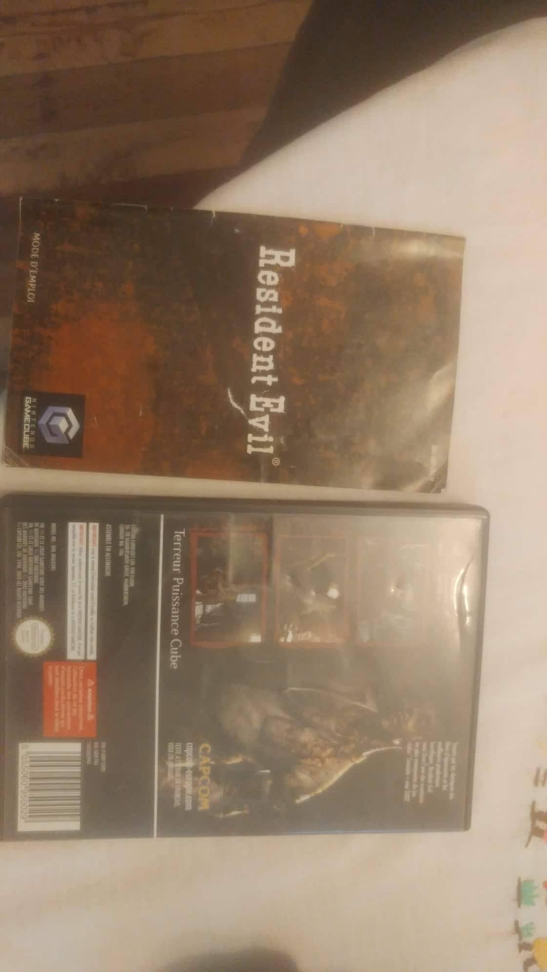 Estim Game Cube + 4 manette + RE rebirth + CM 181008021012246978