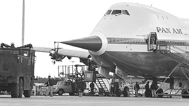 747 test nose