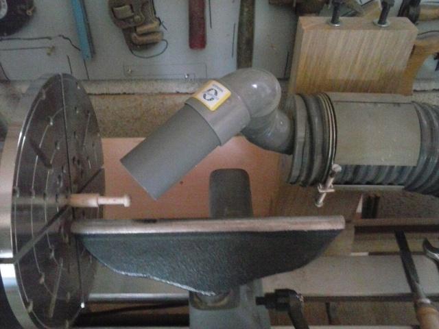 Aspiration des poussières pour tour à bois 181010043607422978