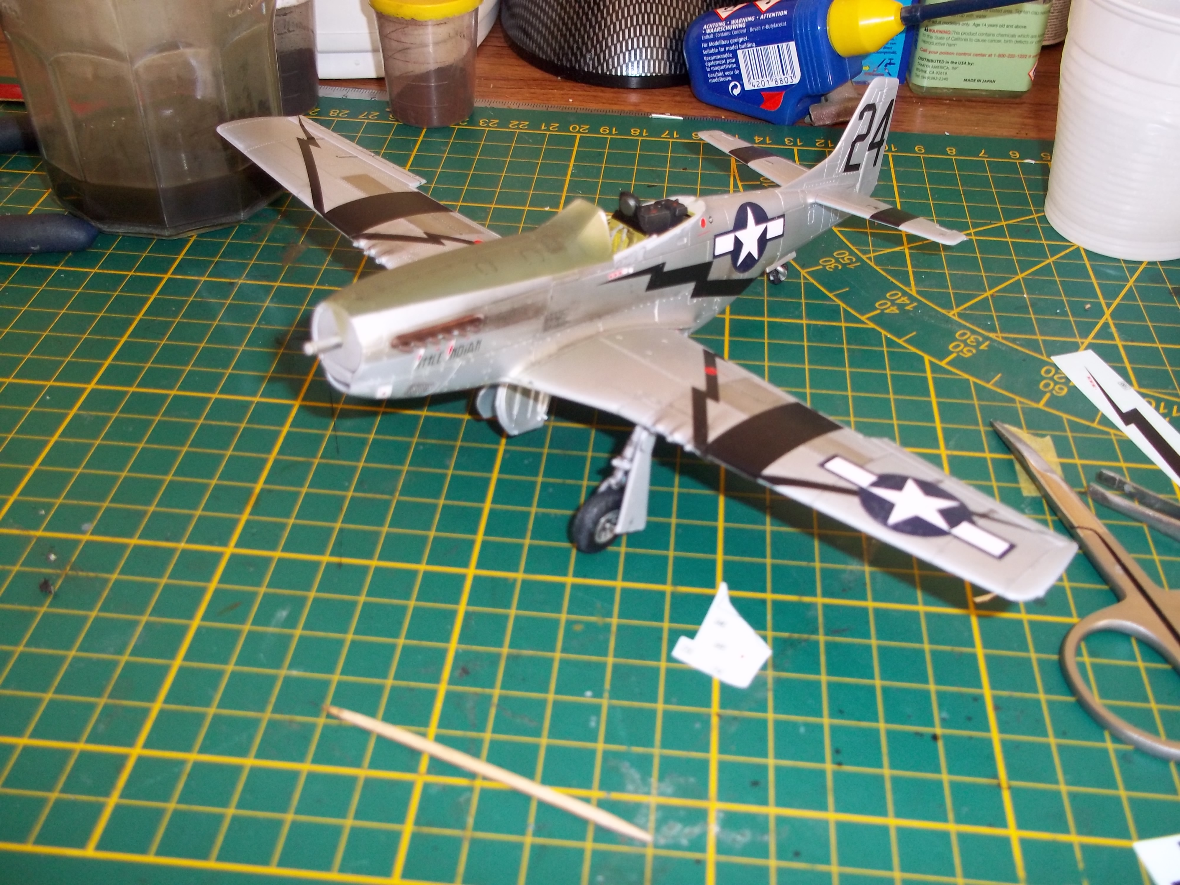 P 51D mustang 1/48 airfix  - Page 2 181010062204378968