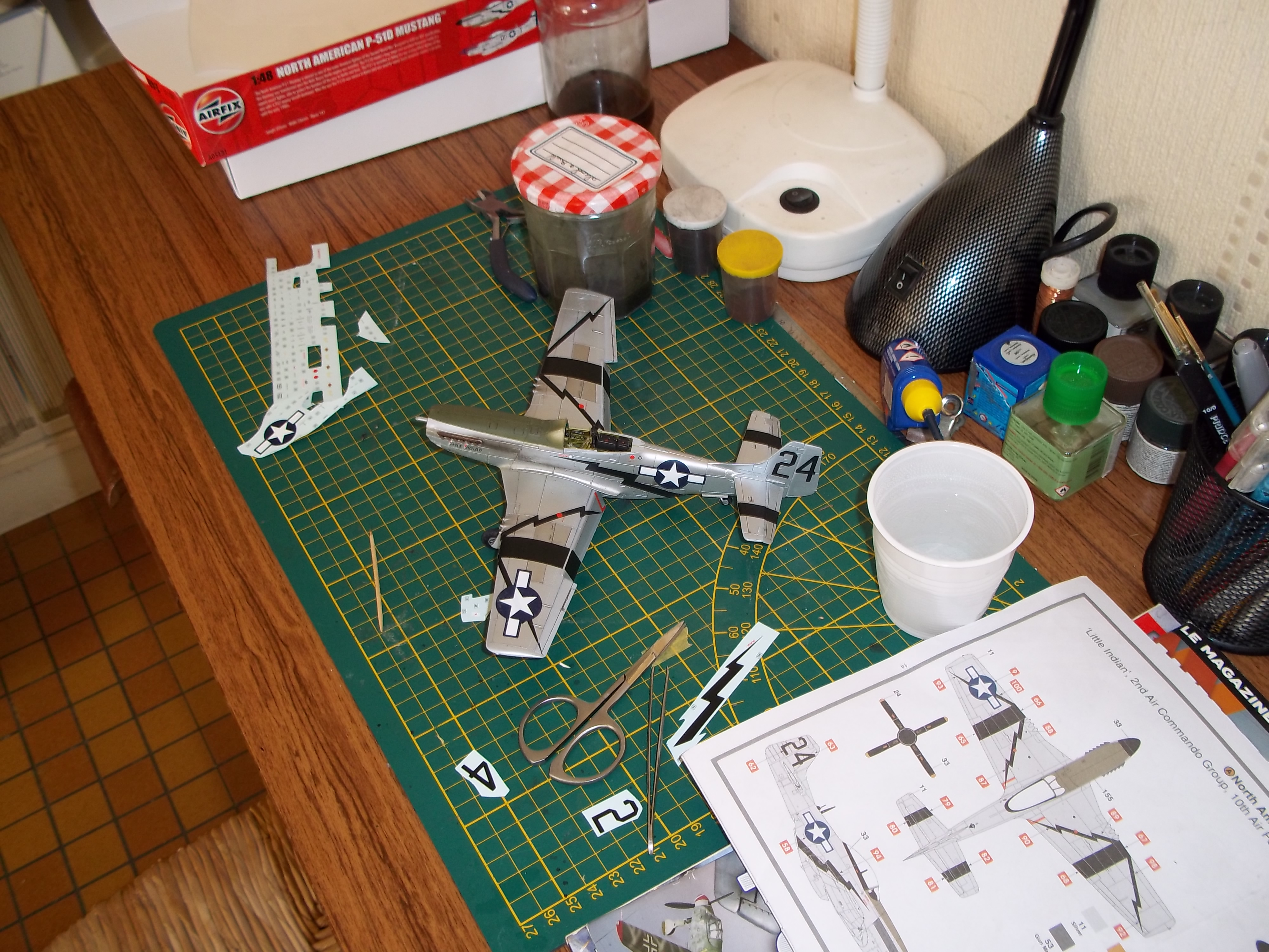 P 51D mustang 1/48 airfix  - Page 2 181010062235408139
