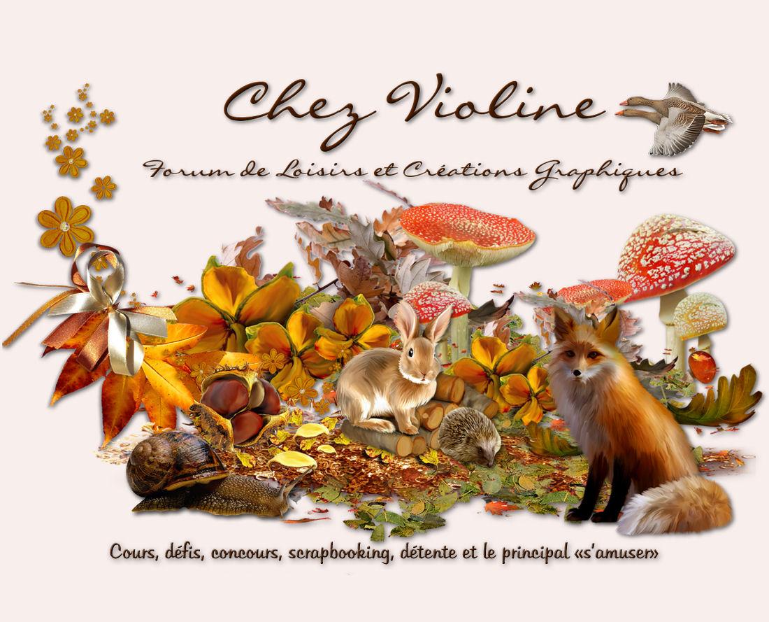 Chez Violine©Graphisme