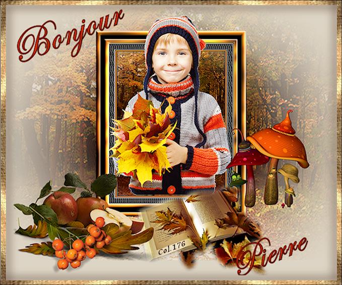 Bonjours/Bonsoirs Automne 2018 181011100758363158