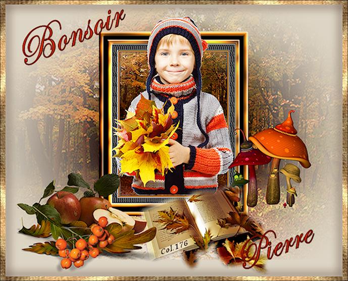 Bonjours/Bonsoirs Automne 2018 18101110100137753