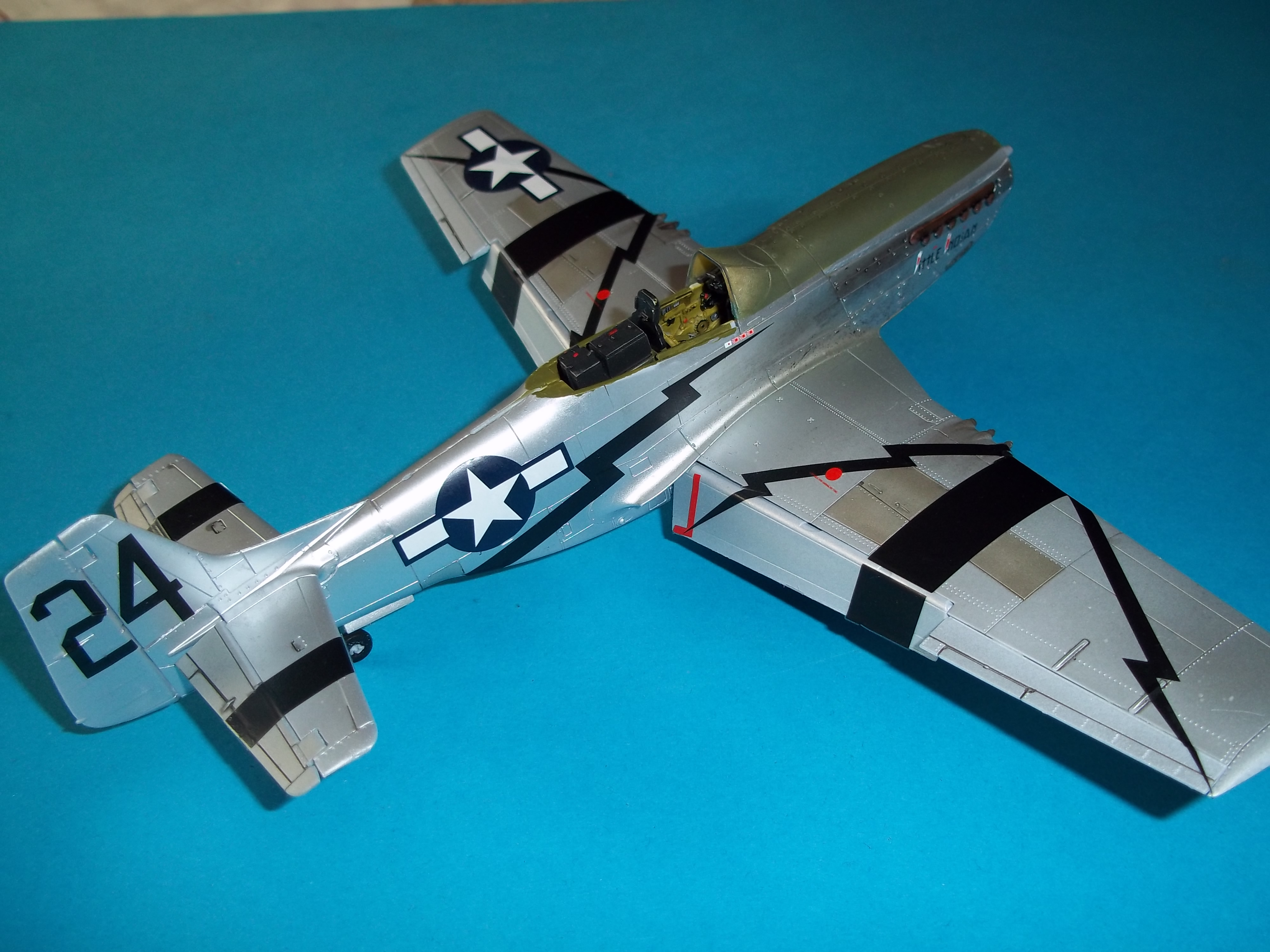 P 51D mustang 1/48 airfix  - Page 2 181012054251684546