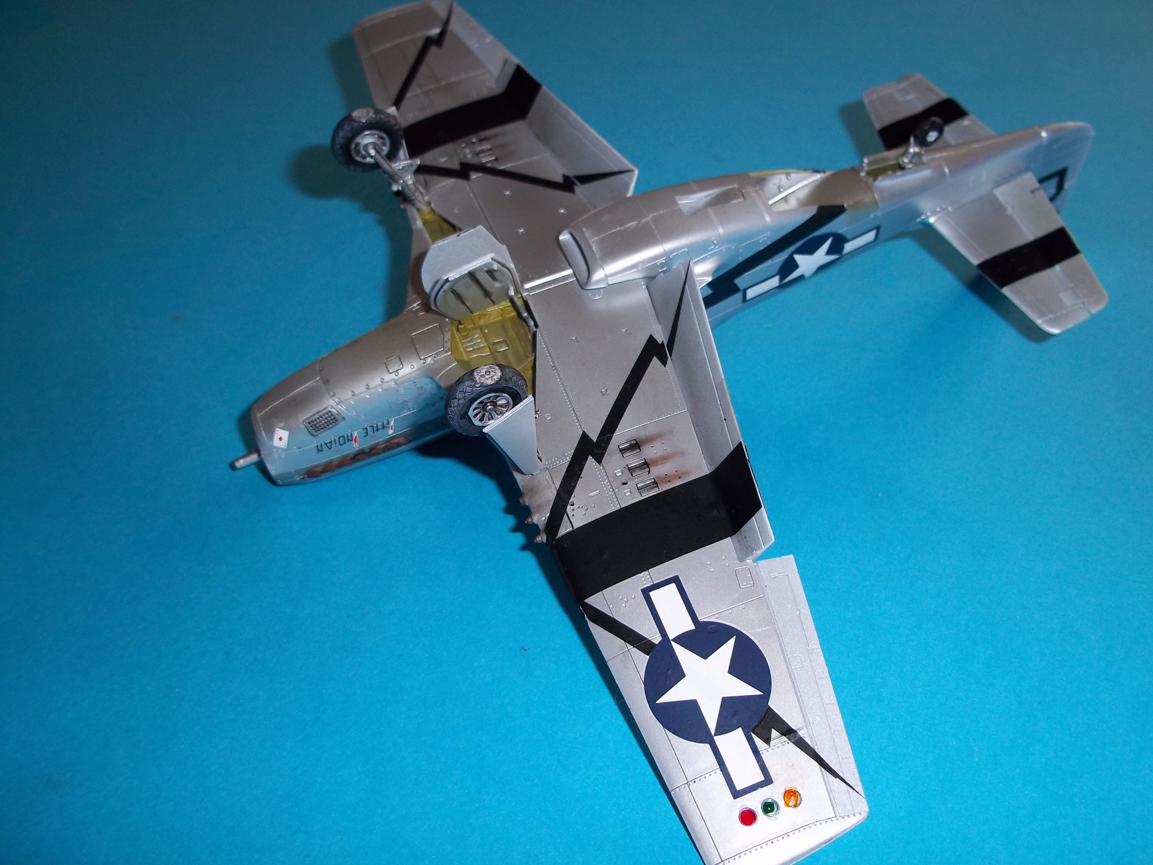 P 51D mustang 1/48 airfix  - Page 2 181012054404313910