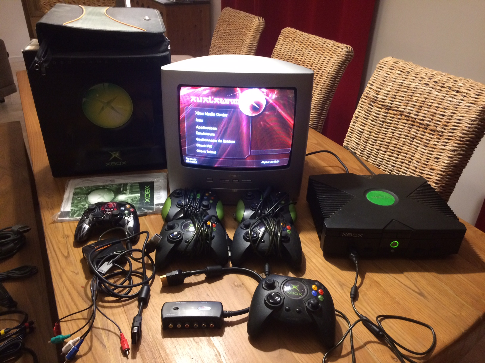 [VDS] Xbox première génération en boîte + nombreux accessoires + jeux 181012074100699753