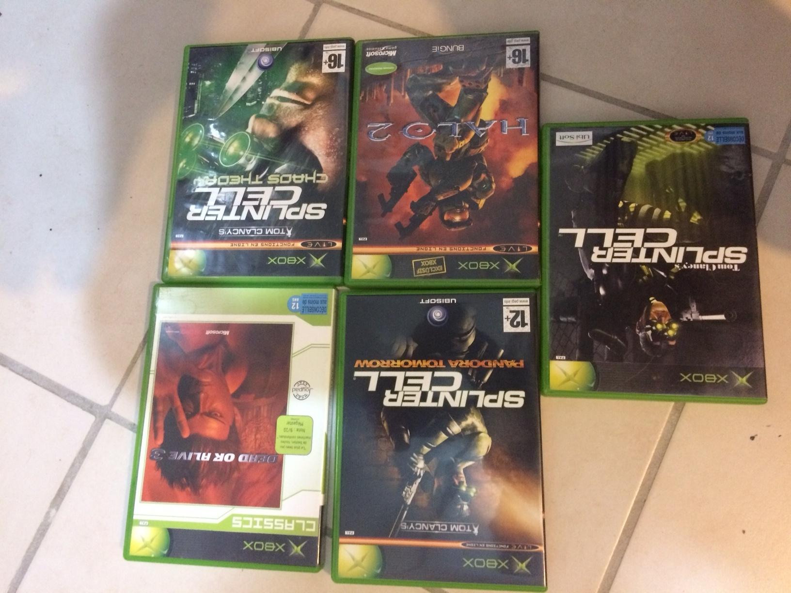 [VDS] Xbox première génération en boîte + nombreux accessoires + jeux 181012074101410864