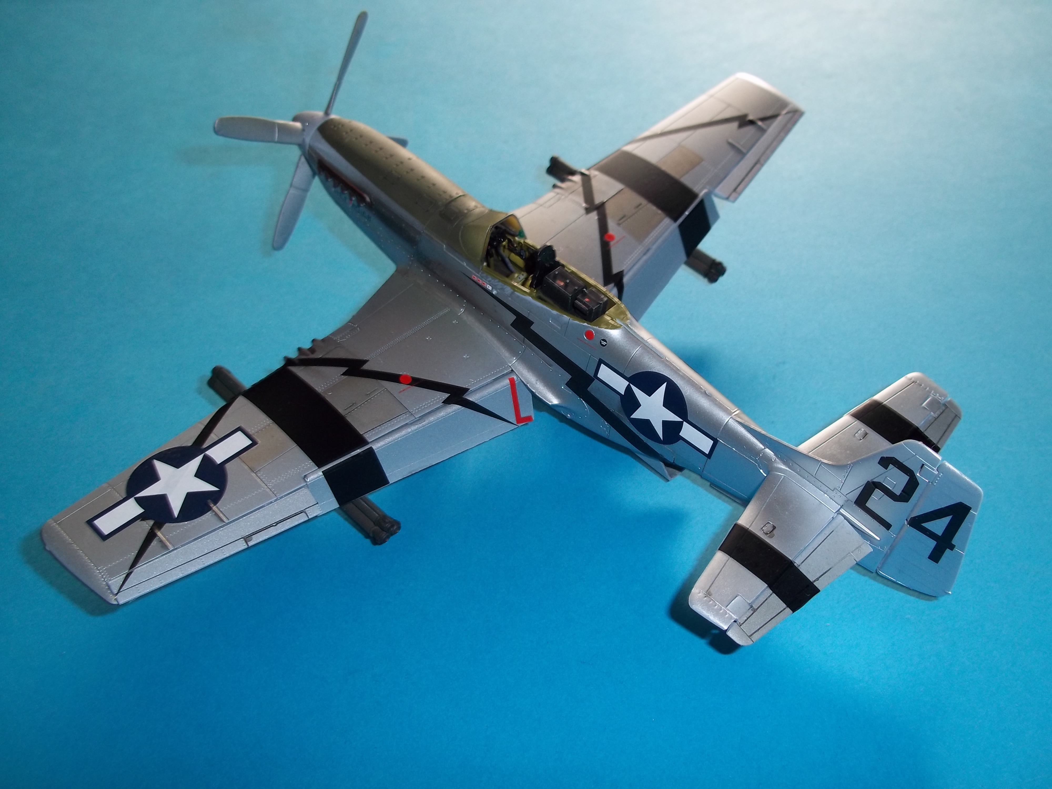 P 51D mustang 1/48 airfix  - Page 2 181013055534843184