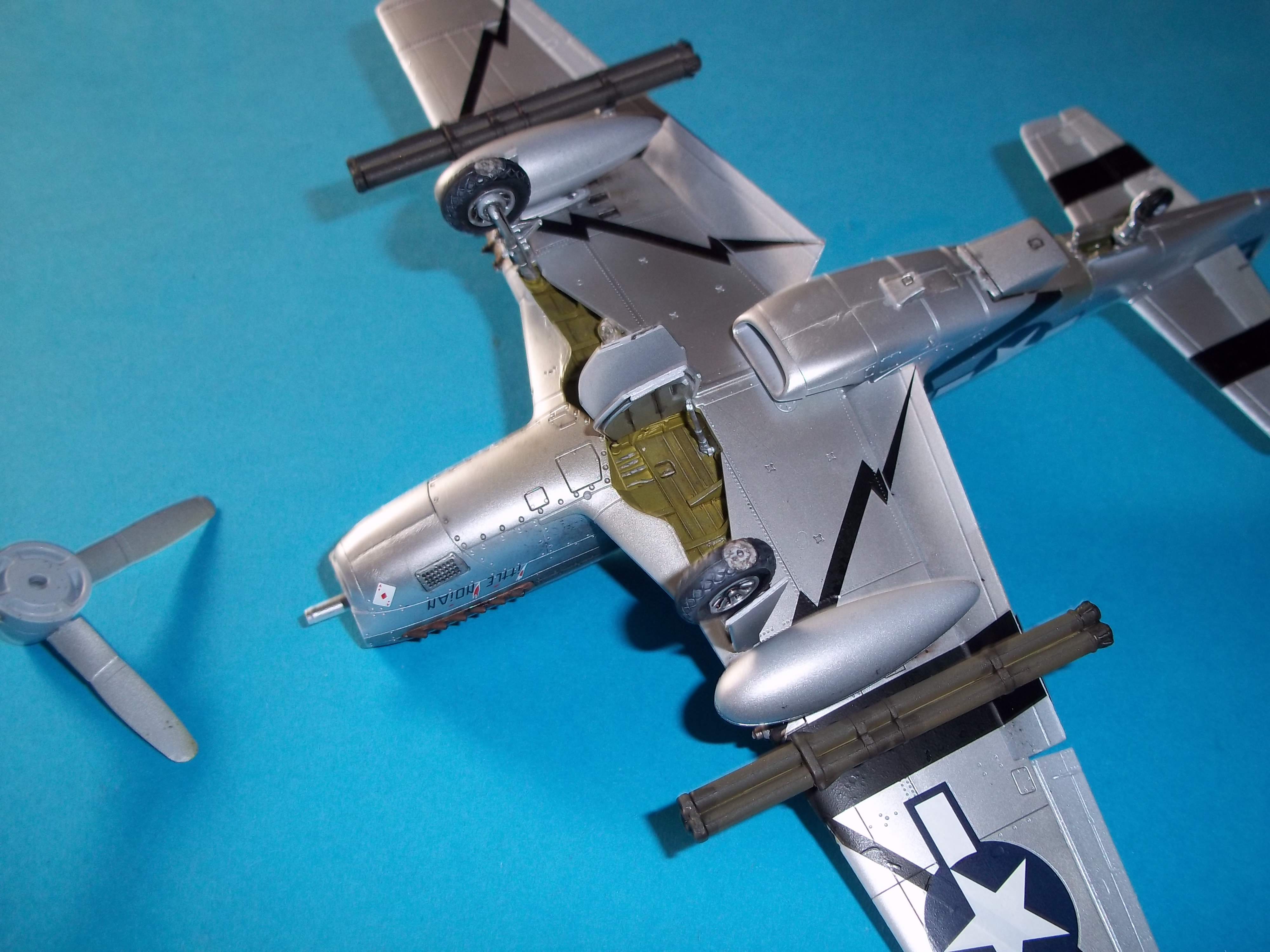 P 51D mustang 1/48 airfix  - Page 2 18101305561459692