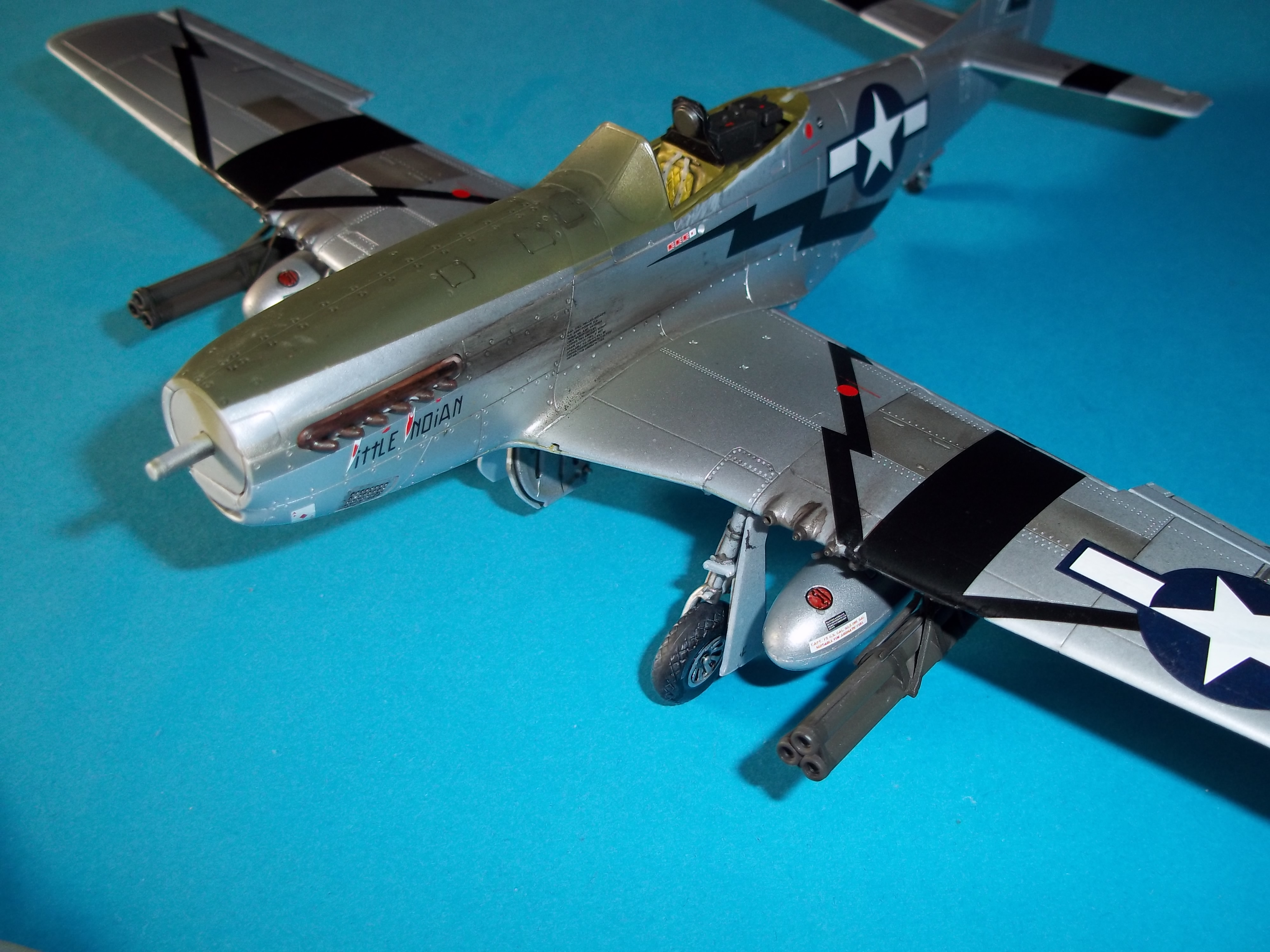 P 51D mustang 1/48 airfix  - Page 2 181013055638360807