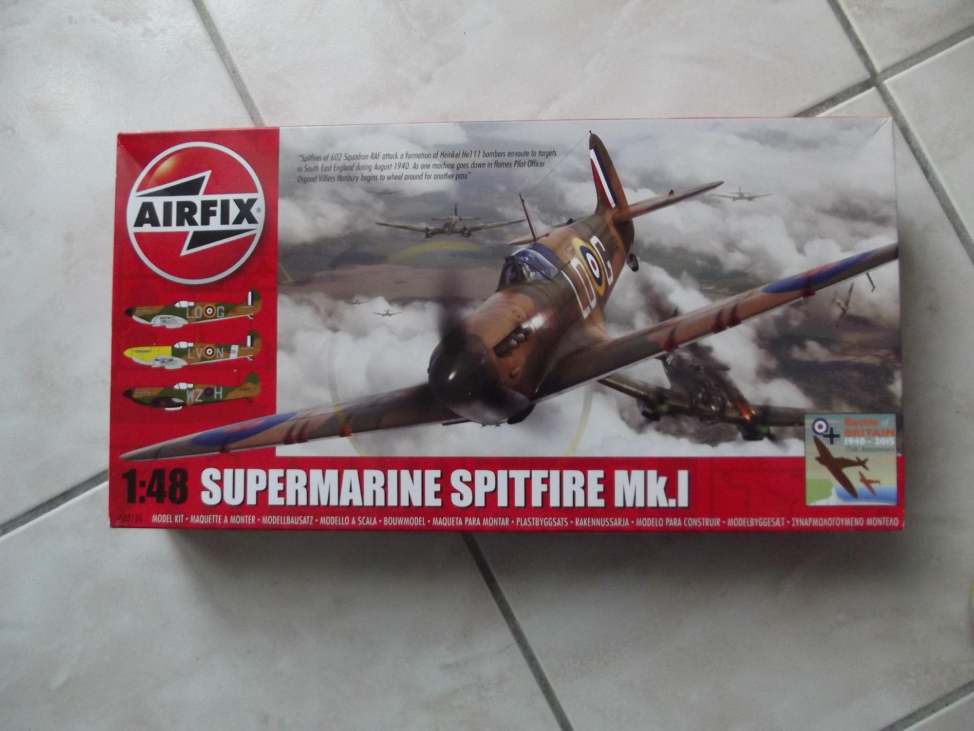 Supermarine Spitfire MK.I/ 1:48/airfix par benco56 181018071258894510