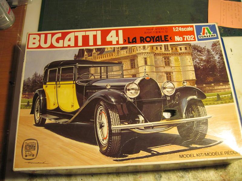 Bugatti 41 Royale 1/24 181019082117898943