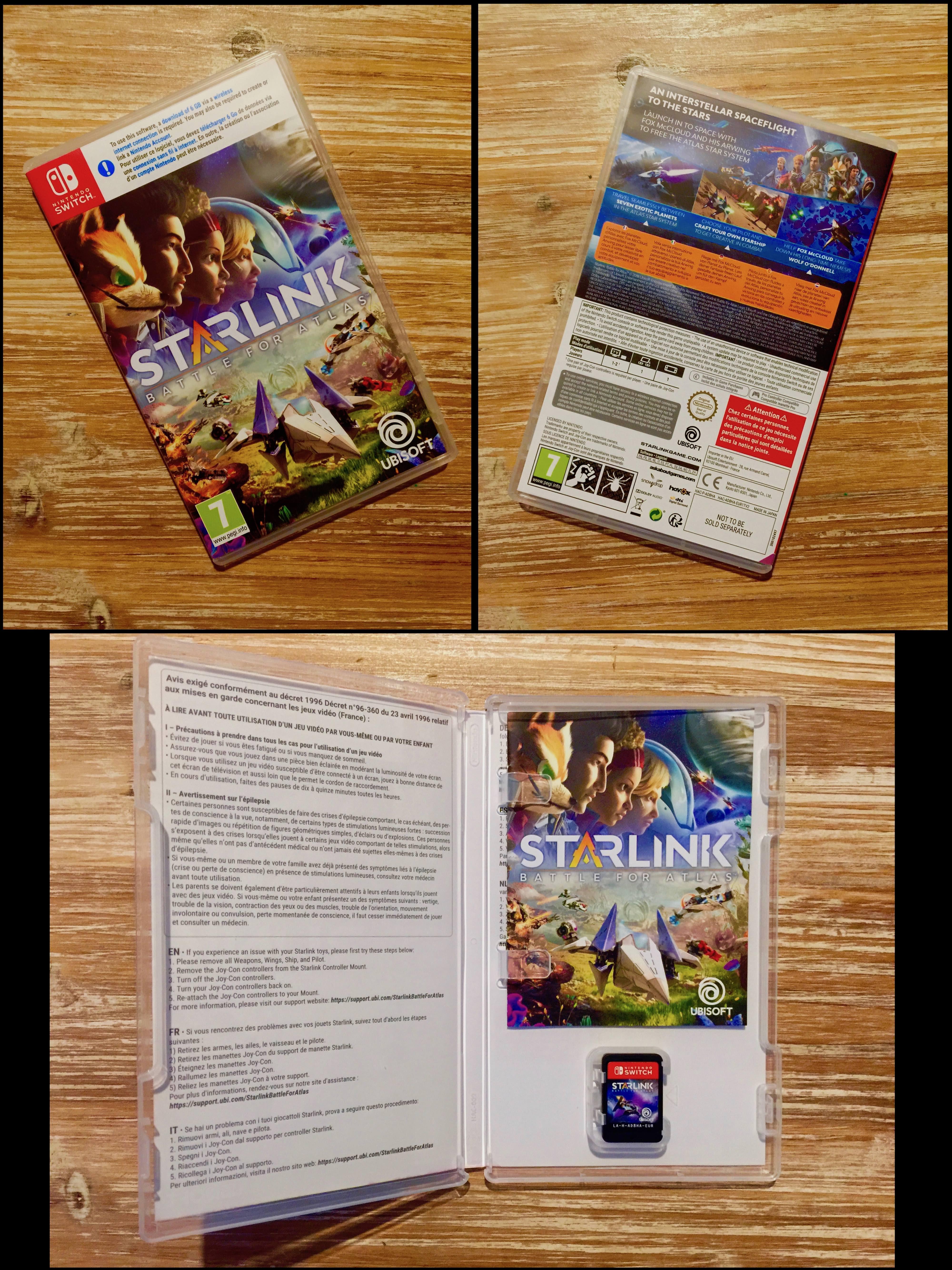 Dans la boite, ho! Une noti... ha non encore 4 pages de garanties européennes.