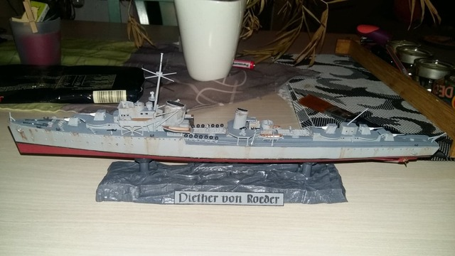 Z17 destroyer allemand type 1936 revell 181020122218897998