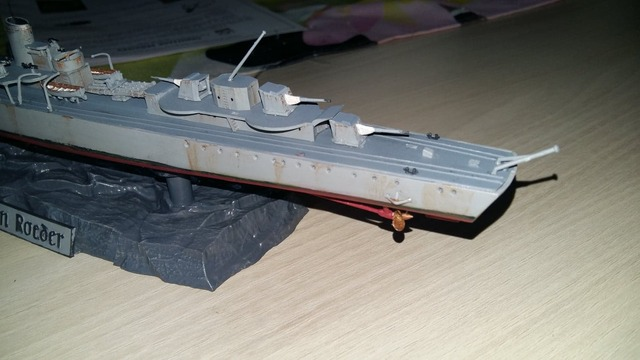 Z17 destroyer allemand type 1936 revell 181020122219407458