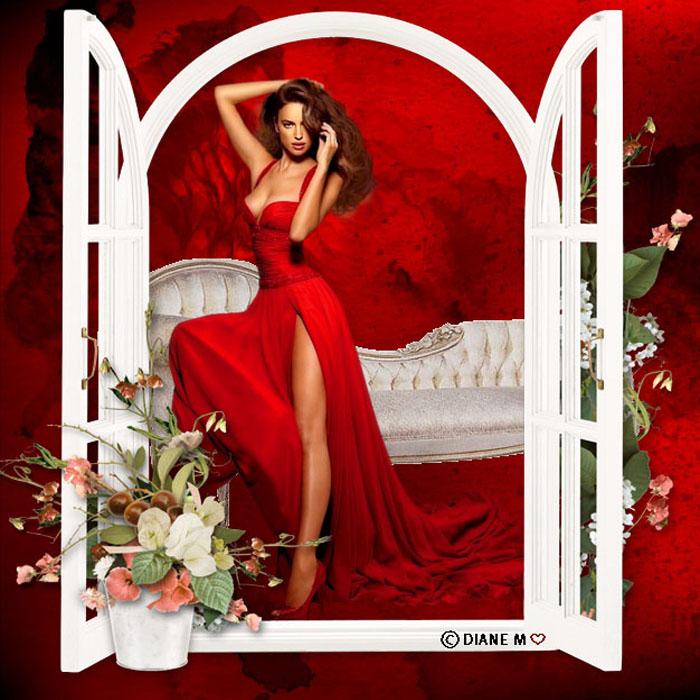 Femme en rouge 181021074741127198
