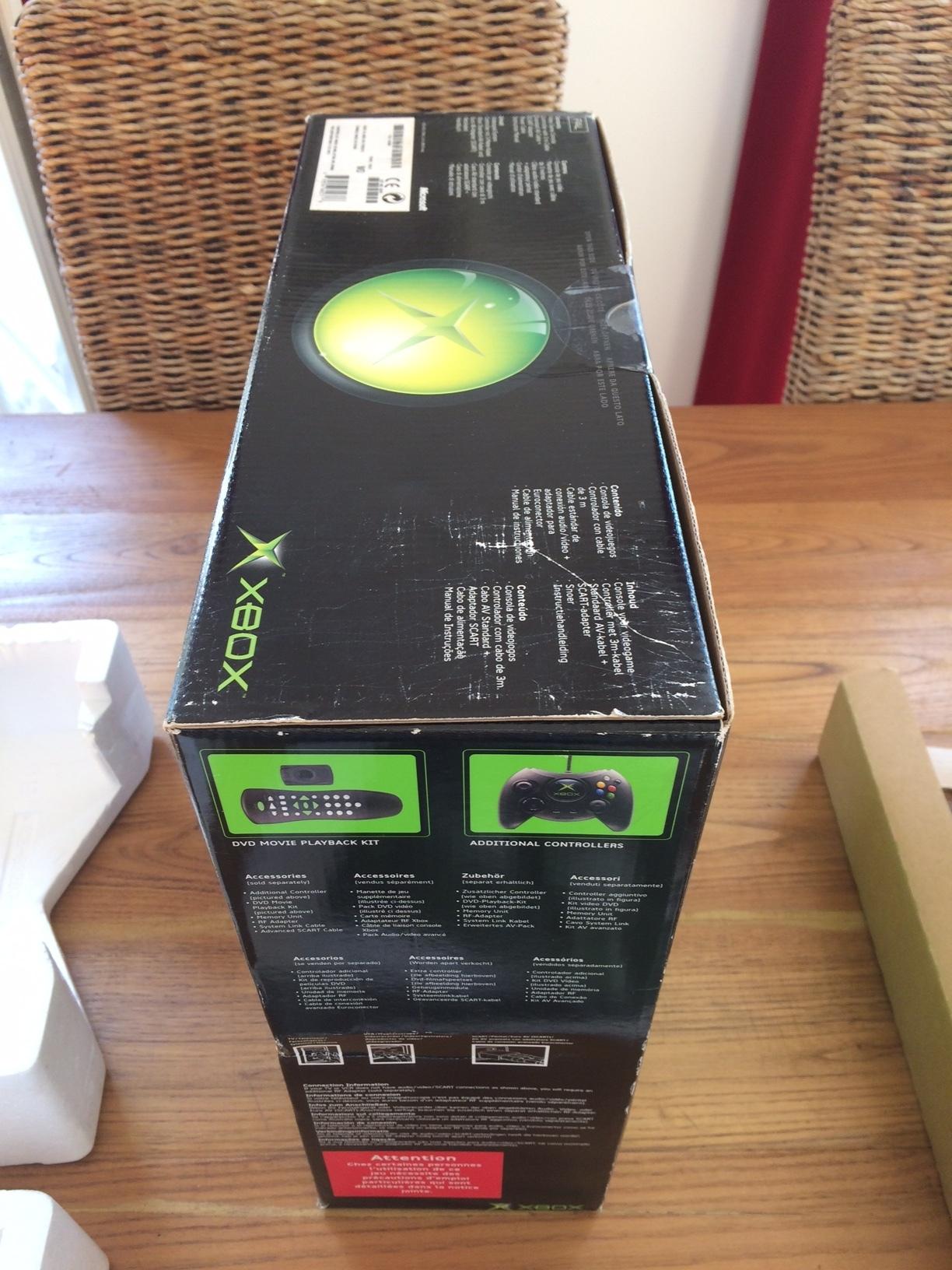[VDS] Xbox première génération en boîte + nombreux accessoires + jeux 181021121354940200