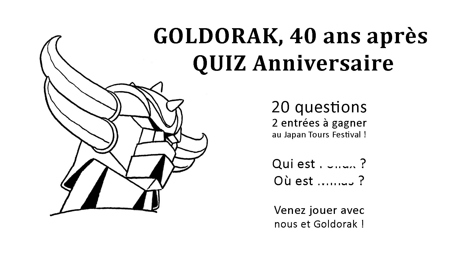 EVENEMENT : AFTER JAPAN EXPO 2018 - ULYSSE 31 ... ET LES 40 ANS DE GOLDORAK ! 181022033943367682