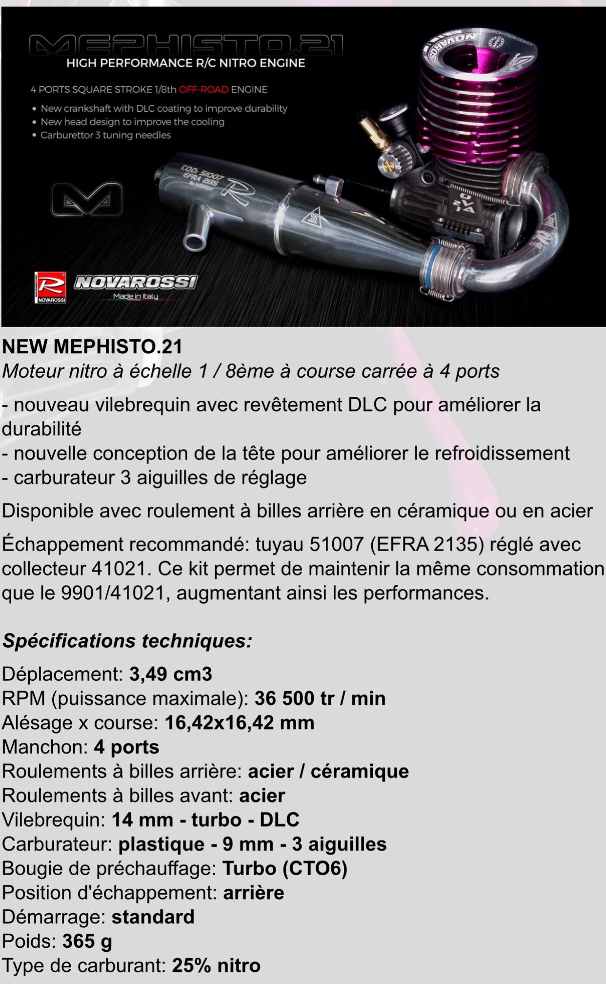 Novarossi mephisto  21 Worlds édition tt 1/8 | RCmag - Le