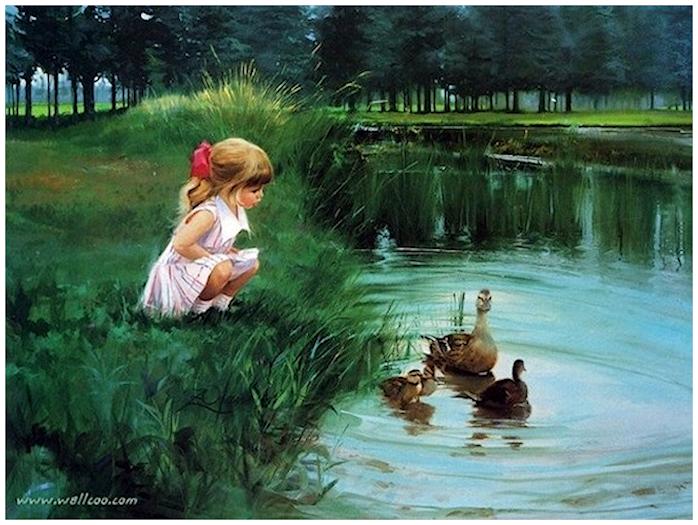 L'eau paisible des ruisseaux et petites rivières  181026120649775878