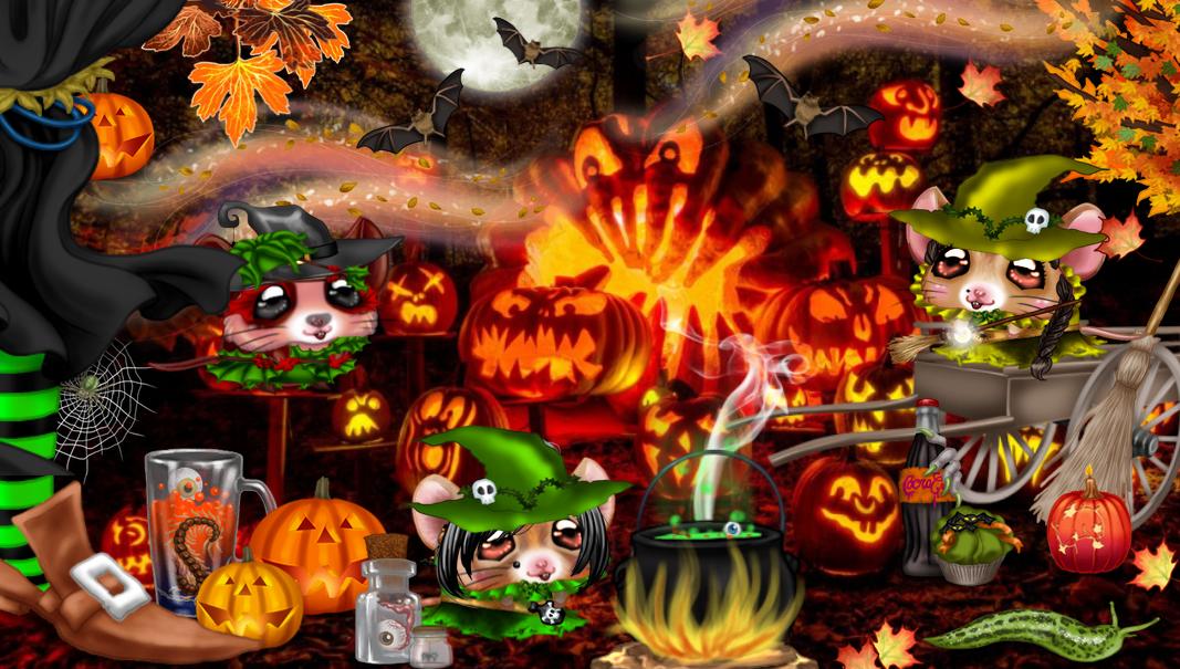 Défilé d'Halloween ... les pieds de sorcière !!!  181028075600141663