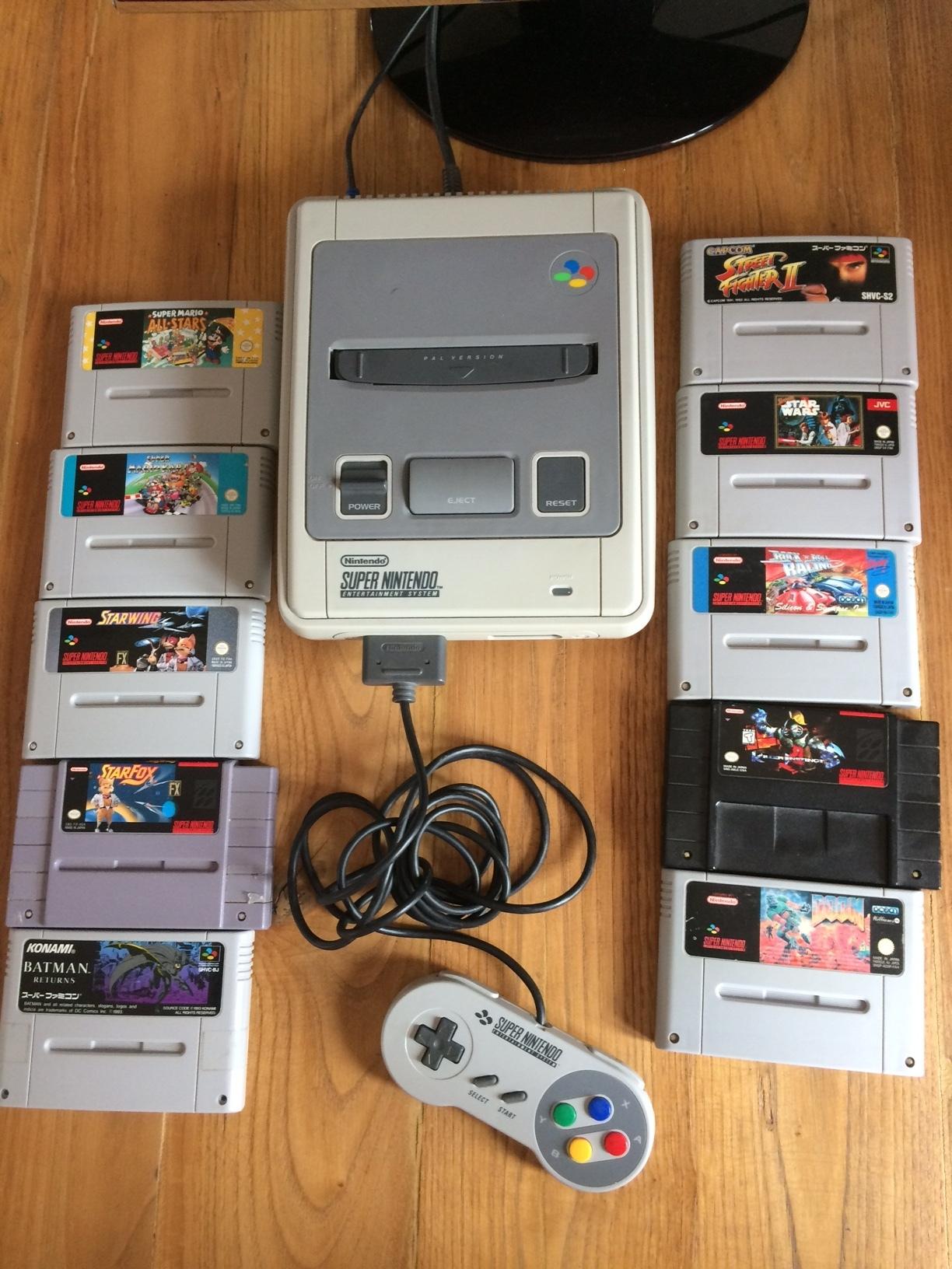 [VDS] lot consoles super famicon super nintendo wii super ufo pro8 jeux 181028112424420808