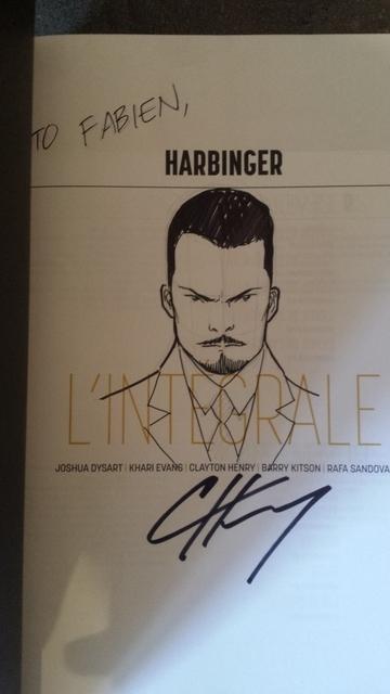 Harbinger cover