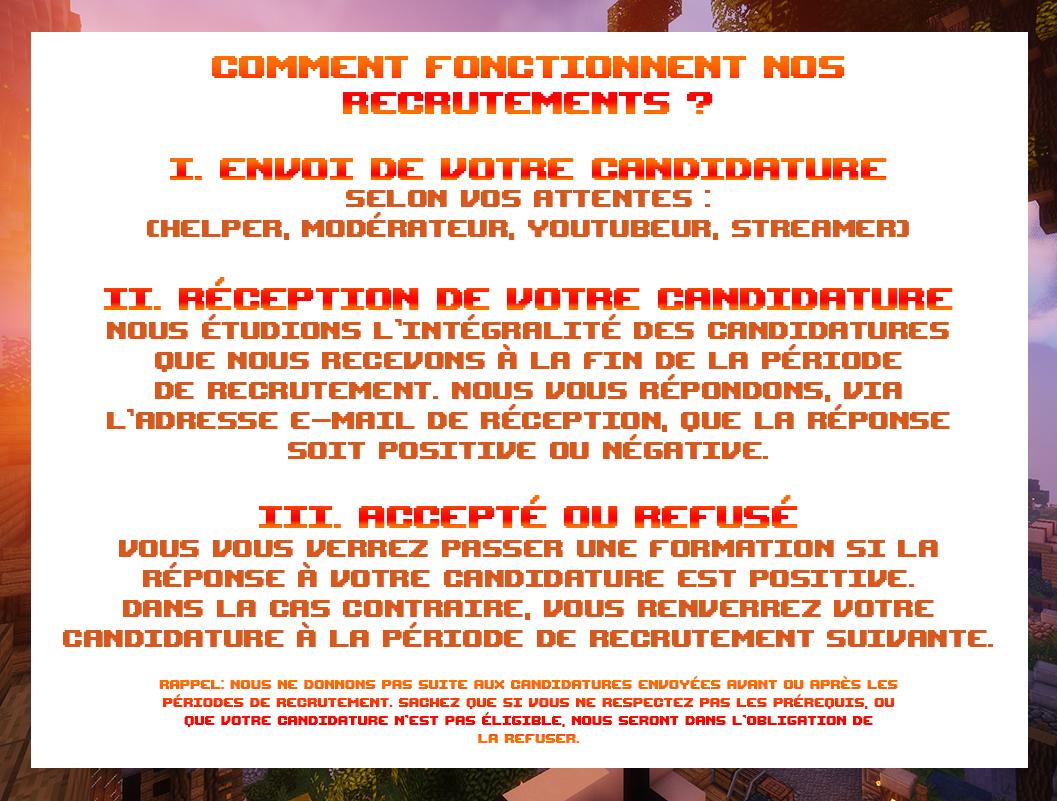 SYSTEME DE RECRUTEMENT