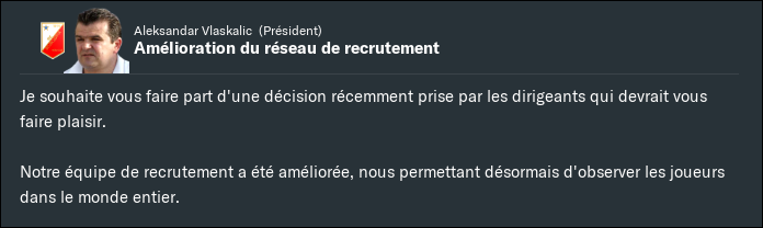 Am?lioration r?seau recrutement