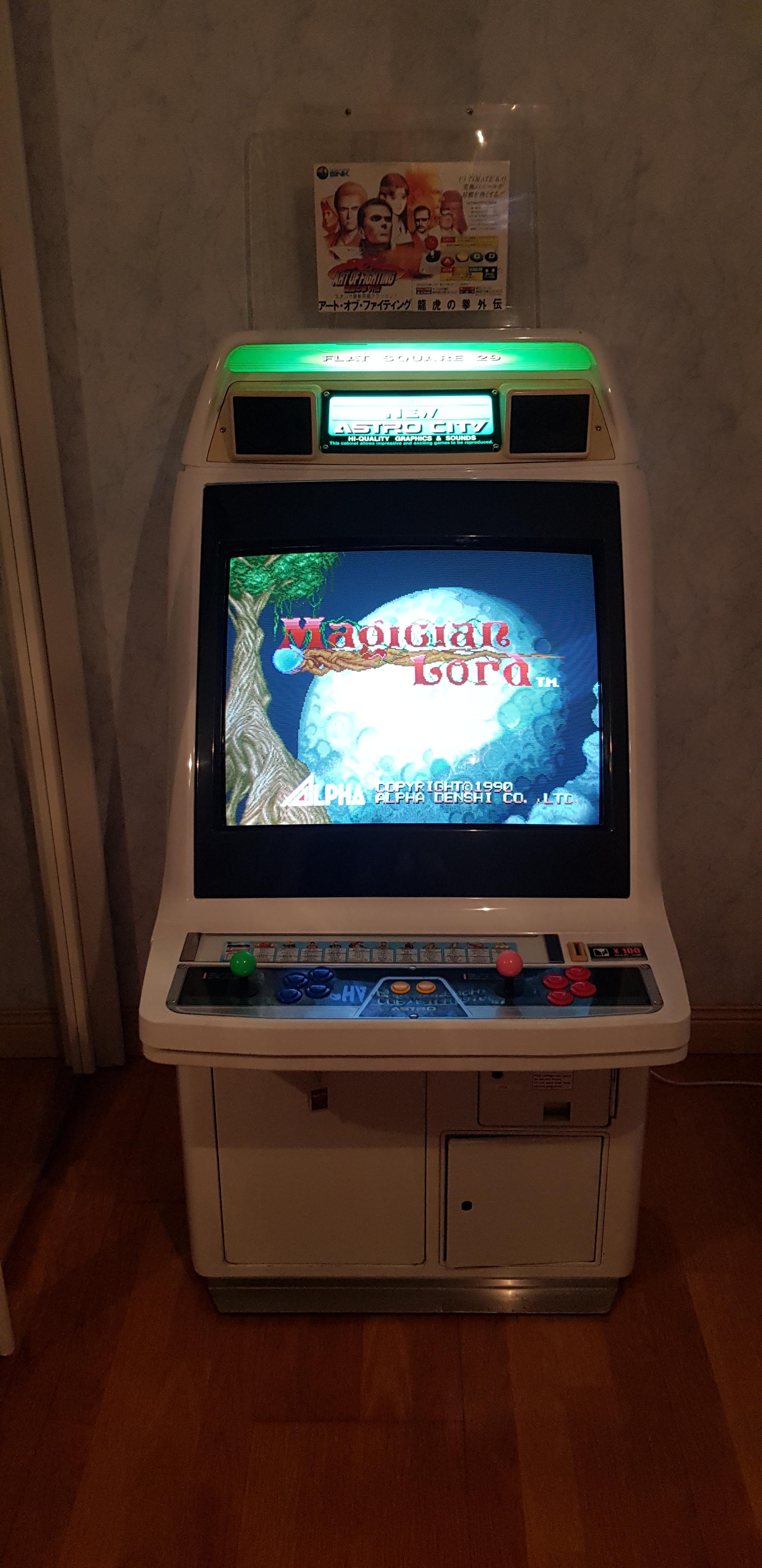 Ma borne Sega New Astro City 181103081131841390