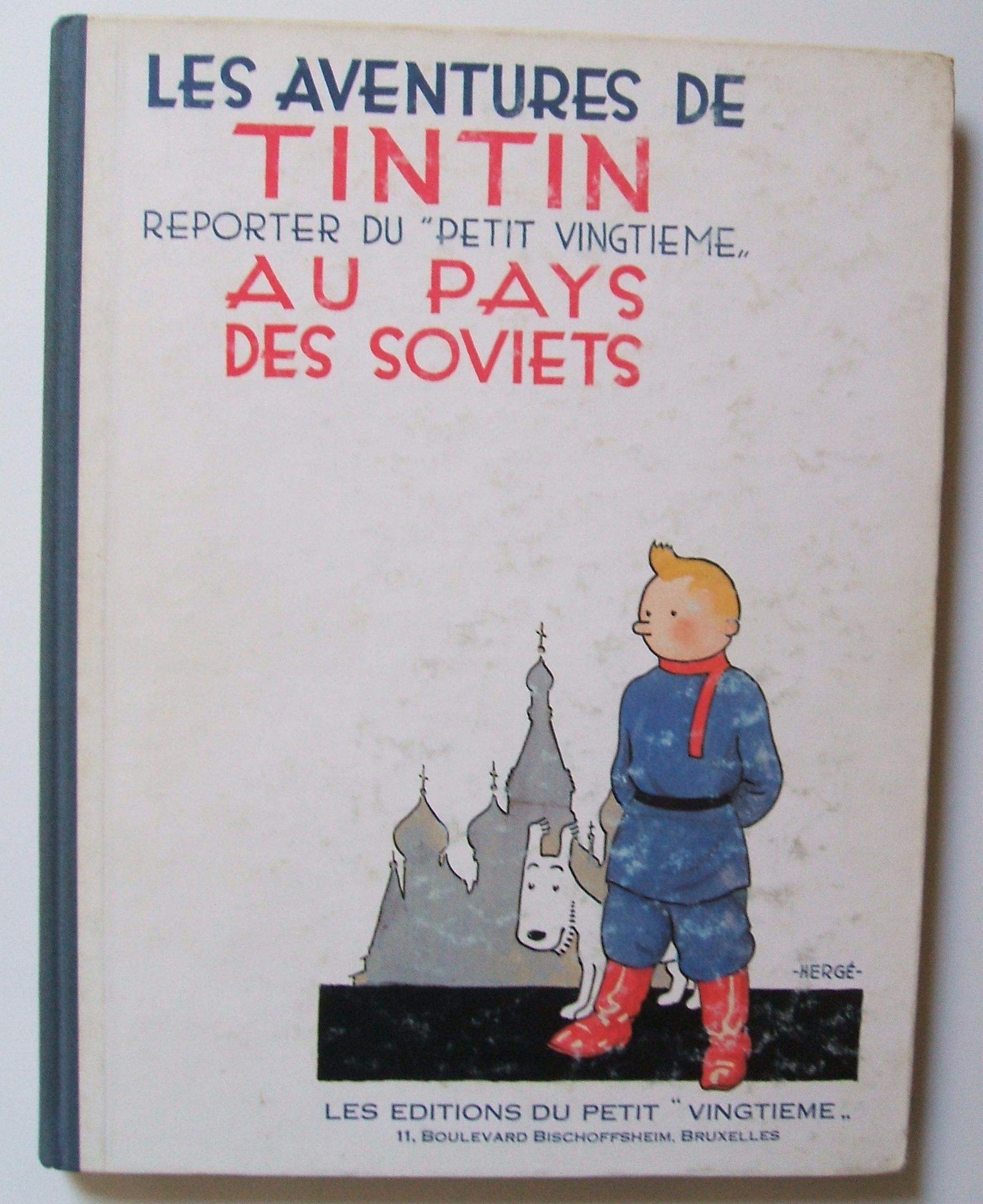tintin soviet 1