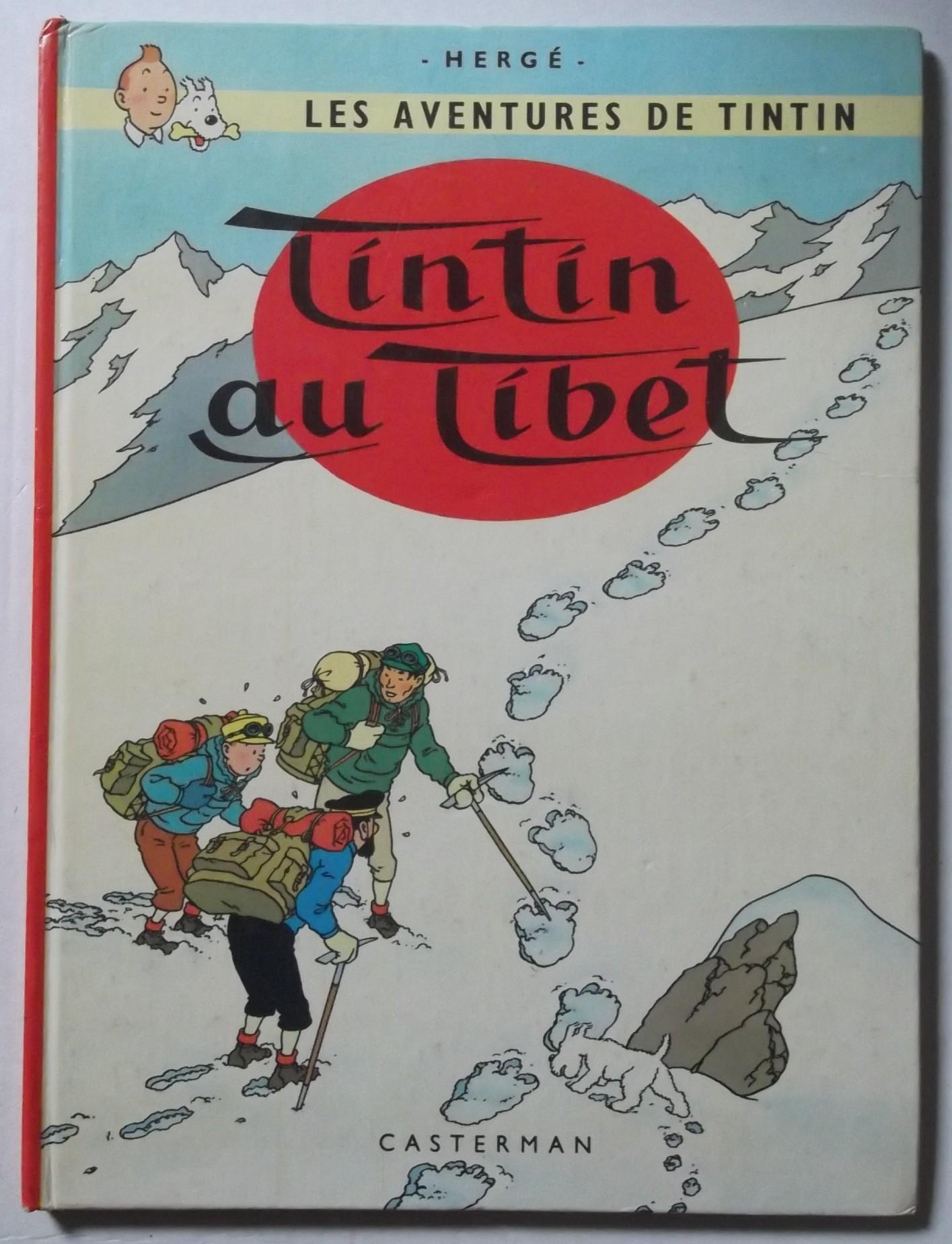 tintin au tibet isbn recto