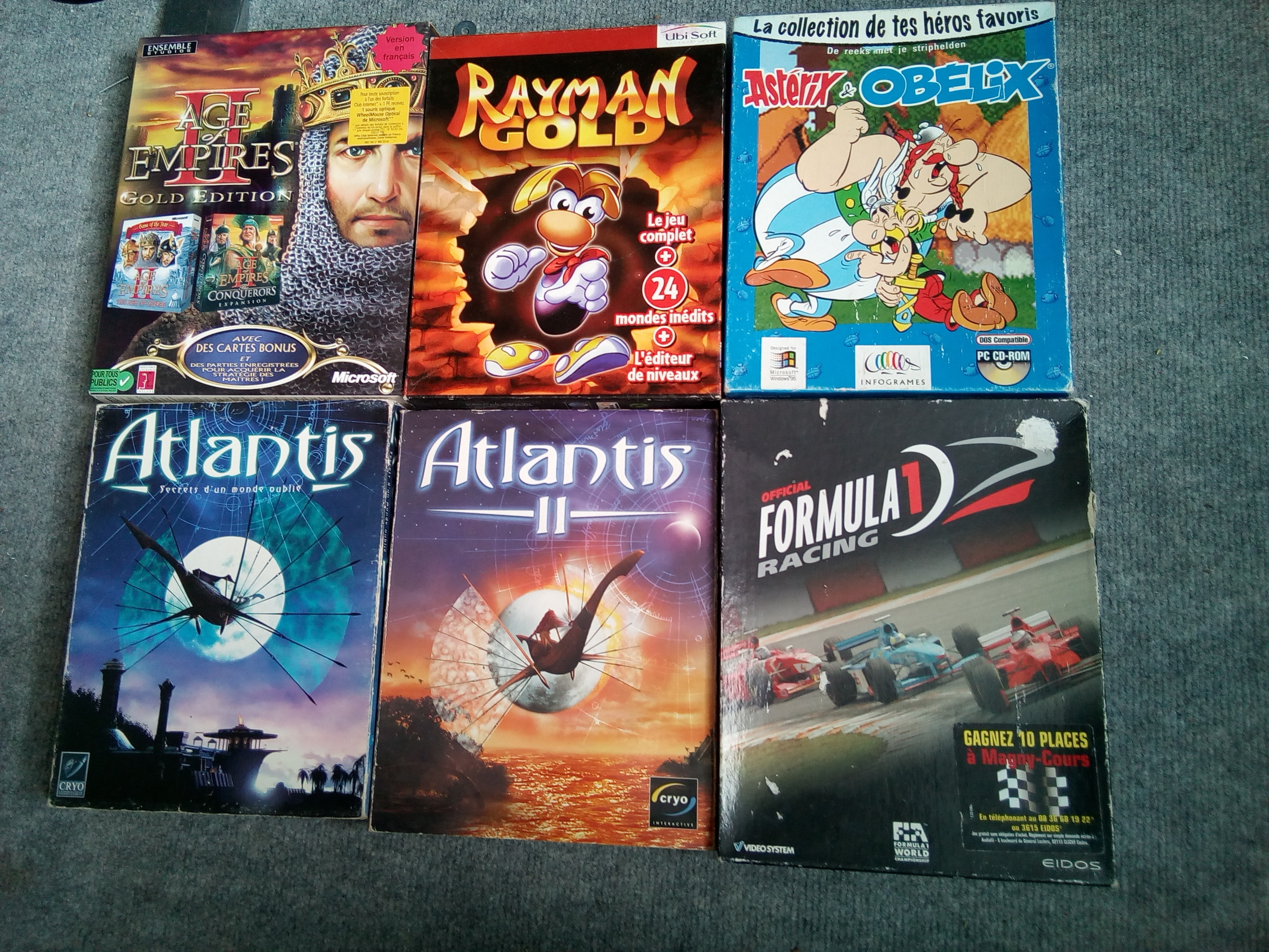 maxfly shop (Maj 07/05) coleco, atari, big box... etc 181104122129356617
