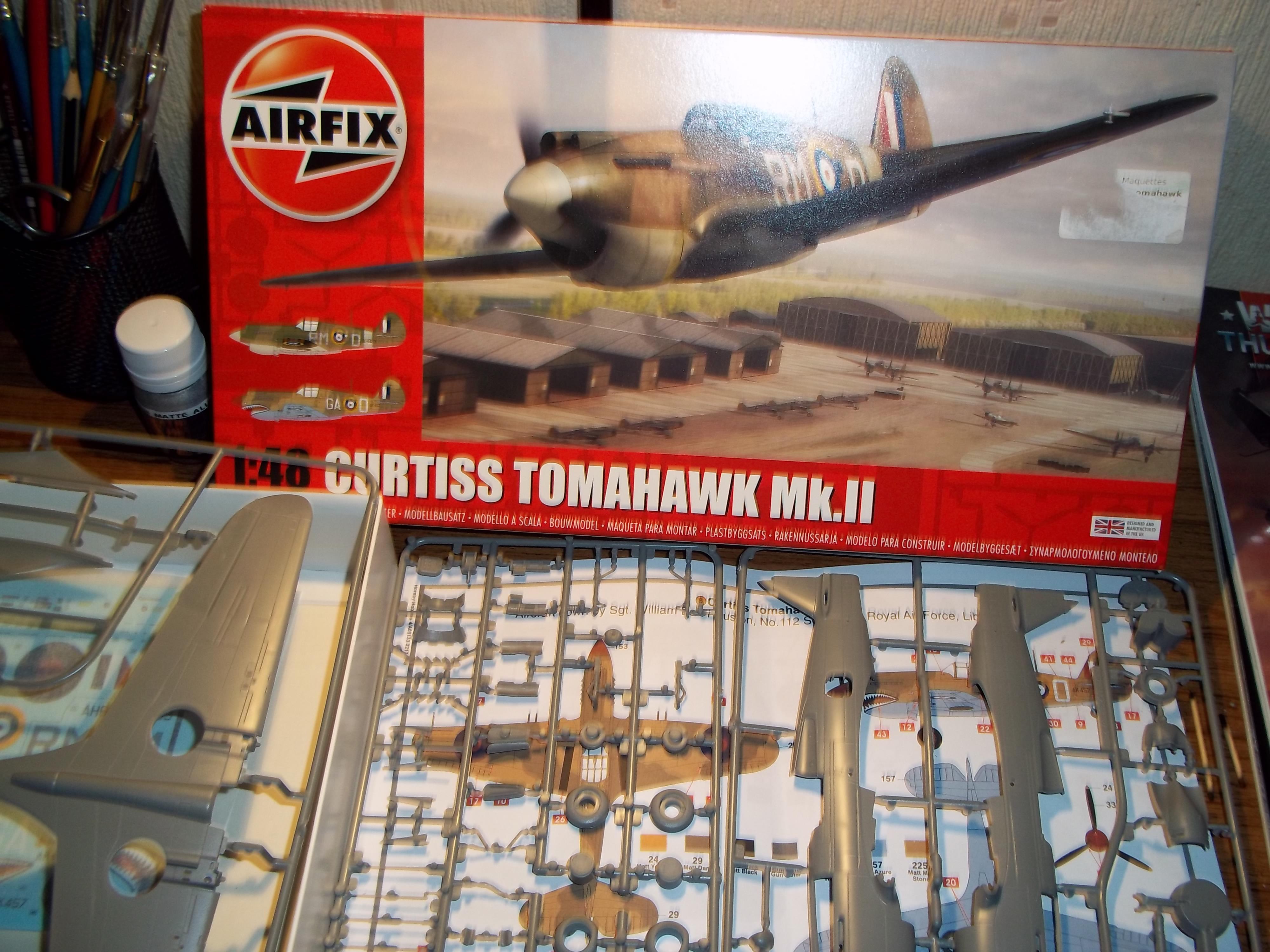 curtiss tomahawk MK.II  airfix 1/48 181107035532982188