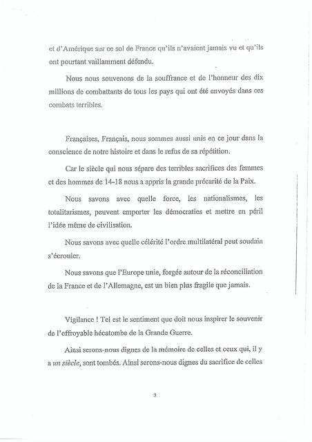 Le discours que Macron impose aux maires de lire 181109044743499284