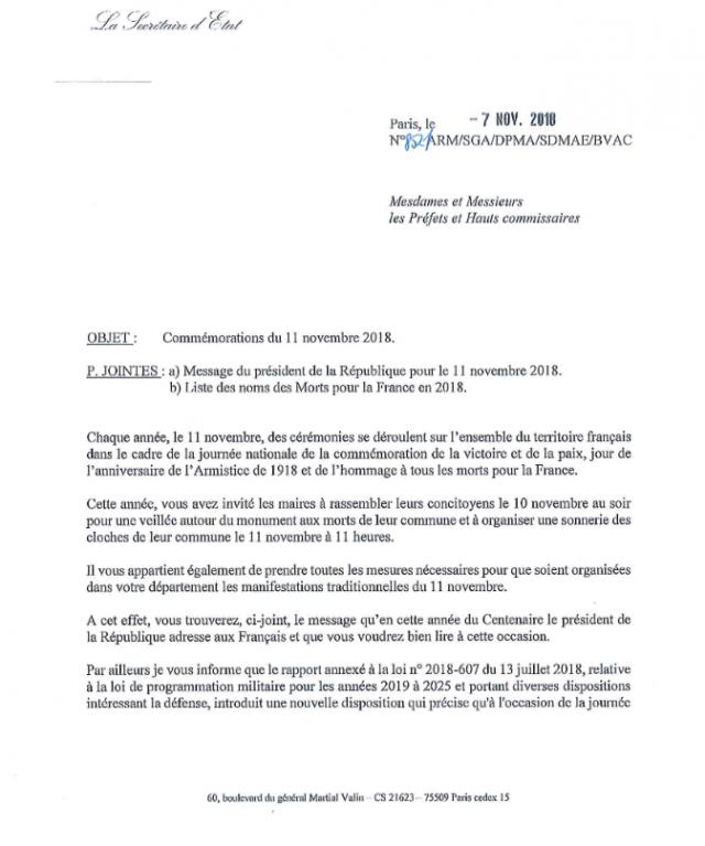 Le discours que Macron impose aux maires de lire 18110904502728868