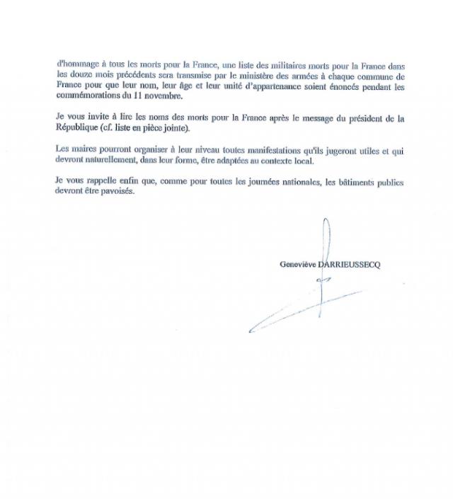 Le discours que Macron impose aux maires de lire 181109045103954663