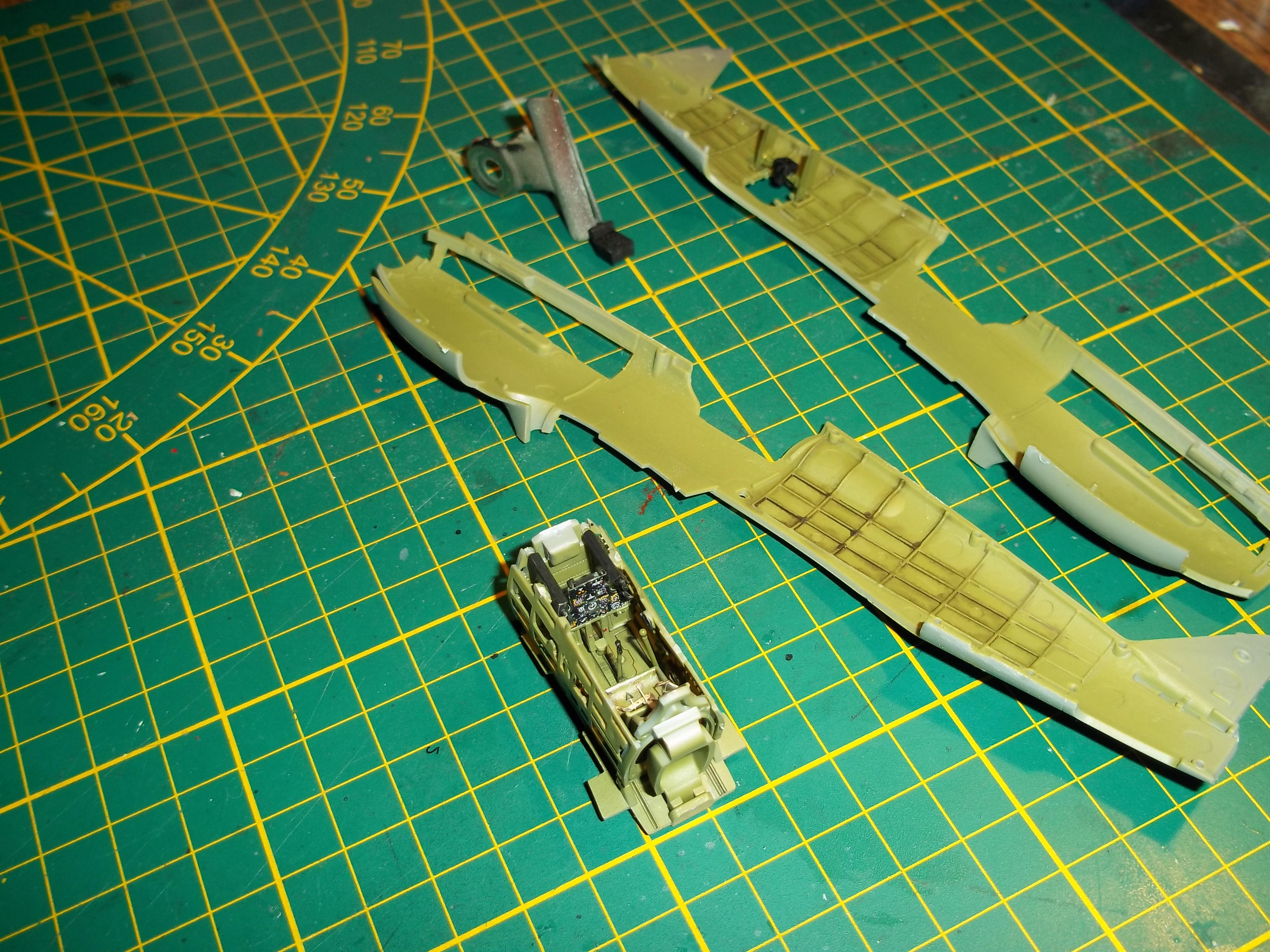curtiss tomahawk MK.II  airfix 1/48 181110070208614328